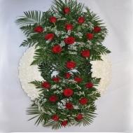 Corona Doble Cabezal Rosas