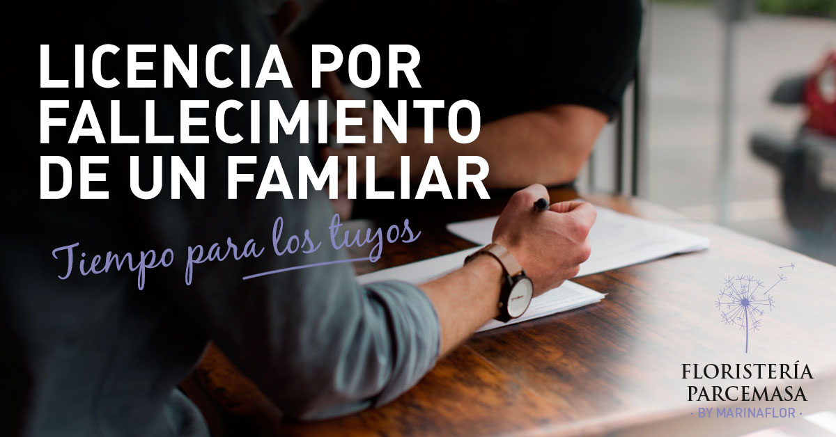 licencia por fallecimiento de un familiar